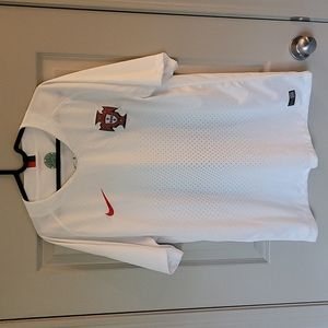 Authentic Nike Portugal Football Jersey